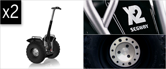 segway x2: off terrain personal transporter