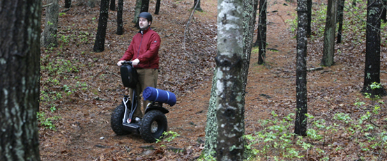 segway x2: off terrain recreational personal transporter.