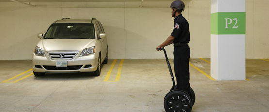 segway security patrol, private security